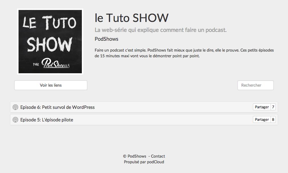 Le tuto show